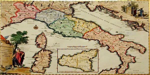 Cartina Politica Italia 1860.17 Febbraio 1861 E L Italia Fu Fatta Mediterraneo Cronaca