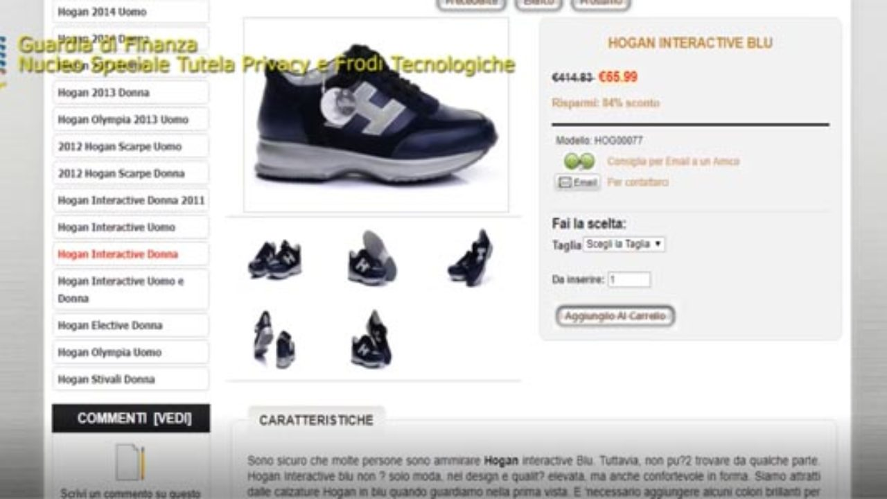 4760999b614b Il mercato del falso ora è e-Commerce, sequestrati siti e annunci anche su  Amazon e YouTube - VIDEO | Mediterraneo Cronaca.it